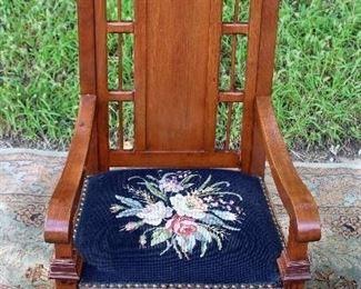 Antique Platform Rocking Chair
