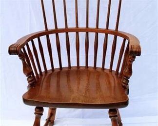 Ethan Allen Comb-Back Chair
