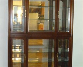 Beautiful large curio cabinet