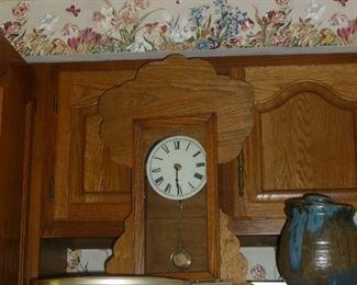 Old kitchen clock