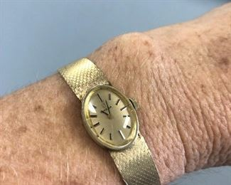 Omega 14k  Ladies watch $1200