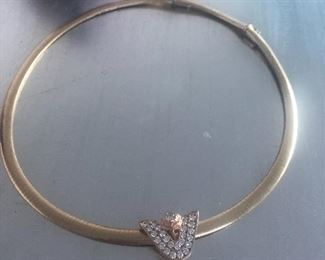 14k and diamond - has appraisal $5,000