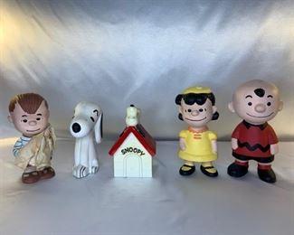 Charlie Brown clay figurines