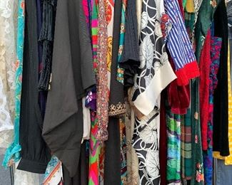 Vintage dresses, frocks, caftans, rompers and more!