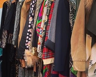 Blazers, evening wear, coats, glitz & glitter...