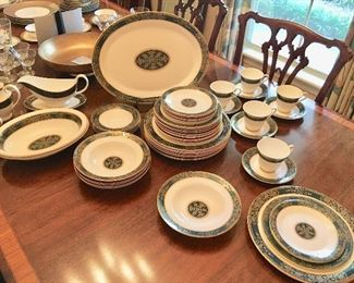 """Nice set of Royal Doulton """"Carlyle"""" including place settings and serving pieces (serving pieces will be priced separately)."""