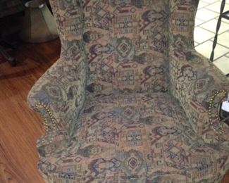 Another upholstered chair