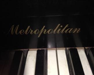 Metropolitan piano