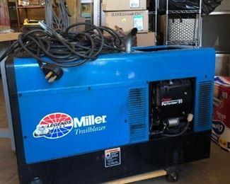 Miller Trailblazer 280 8000 Watt Generator / Welder with low hours in perfect condition.