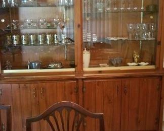 crystal, vintage glassware, fine china, bone china, vintage knives