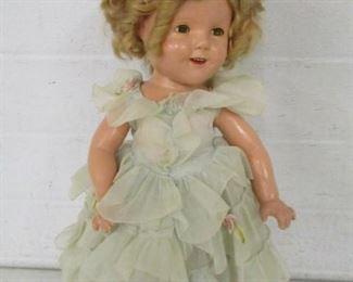 Composition Shirley Temple Doll w/Original Clothes
