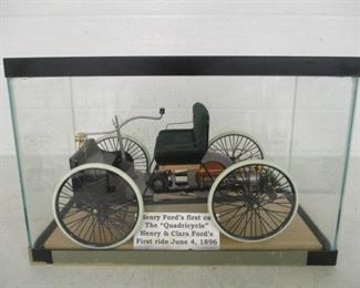 Henry Ford's Quadricycle Precision Die Cast Model