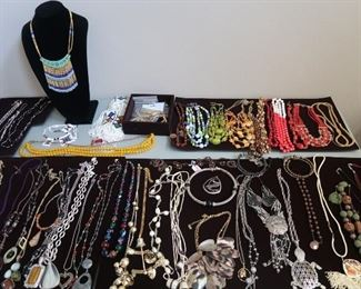 Hundreds of necklaces.  Sell 200 @ $20.00 each, and you have your initial investment back!