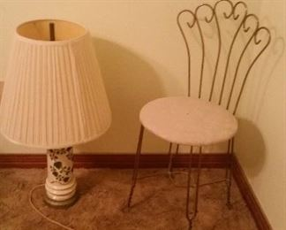 do lamp.vanity chair