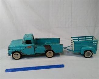 Tonka Truck and Trailer