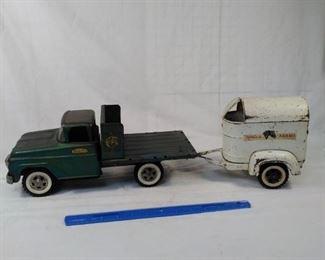 Tonka Farms truck and trailer