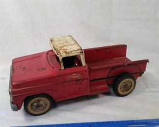 red Tonka Truck