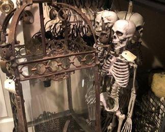 Econome Eddie Skeleton