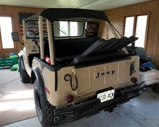 Willys Jeep 1974