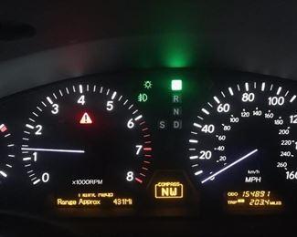 2004 Lexus Mileage