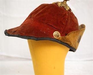 Antique German soldier spiked helmet