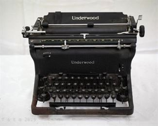 1930's Underwood typewriter