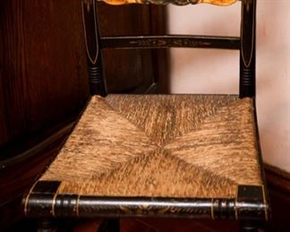 1800's Antique Hitchcock Chair