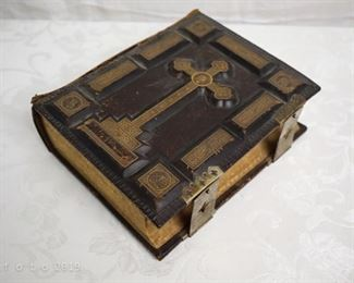 Antique Family Holy Bible