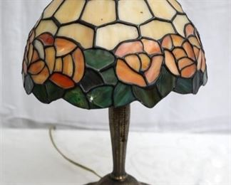 Antique Tiffany style table lamp