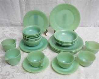 Depression glass Fire King dish ware
