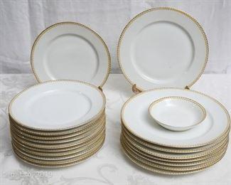 antique limoge dinner plates