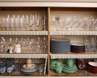 Glass and Dish Ware