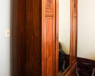 Art Deco French Style Armoire