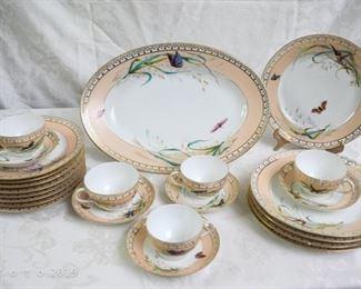 late 1800's haviland dish set