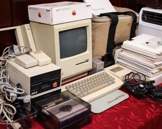 1980's Apple McIntosh and Accessories
