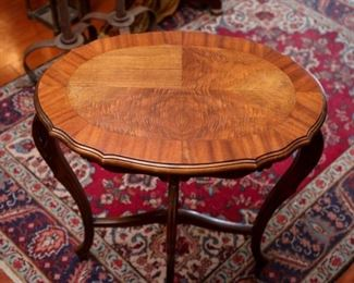Antique Victoria Round Side Table
