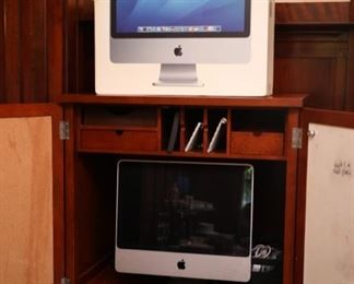 1980's apple iMac  and accessories