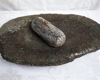antique metate