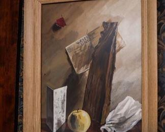 Van Day Truex Still Painting Signed