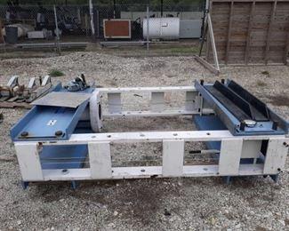 150 Ton Lift With Hydraulic & Remote Press