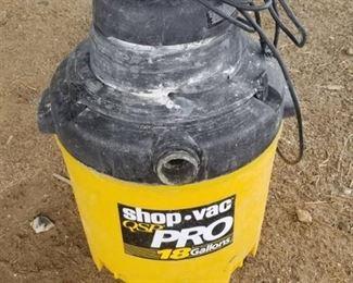 QSP Pro 18Gal Shop Vac