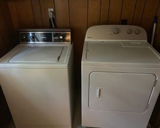 Kenmore Washer( Sold) & Whirlpool dryer