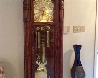 Sligh Grandfather Clock model 0947-1-AB, $875.00, see following close up photos
