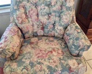 matching swivel chair