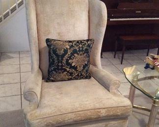 second queen Ann style chair