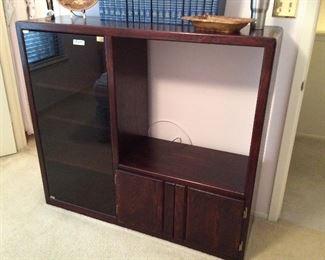 stereo equipment cabinet $65.00