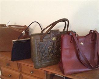 good looking vintage 1950 bags