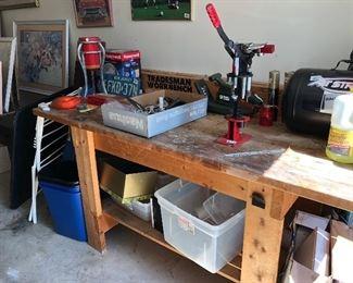 Great sturdy workbench