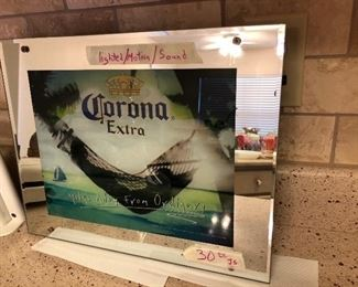 Great looking light up beer sign