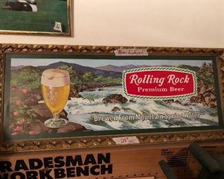 Very cool vintage look beer sign.